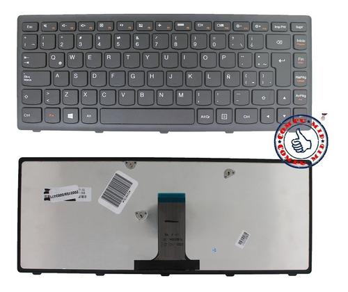 teclado lenovo flex 14 z410 g400s g405s español con marco