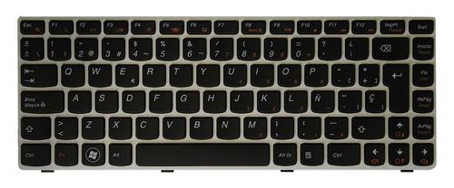 teclado lenovo g480 marco blanco