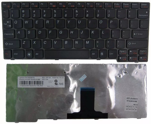 teclado lenovo ideapad s10-3 s10 3s s100 25009576 25010968