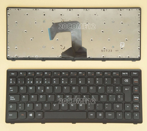 teclado lenovo ideapad s400  s405 s400u s300 español orig