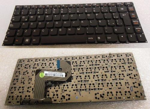 teclado lenovo ideapad u400 español no frame 7700903