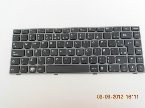 teclado lenovo ideapad z450 z460 z460a z460g 25-010871 br