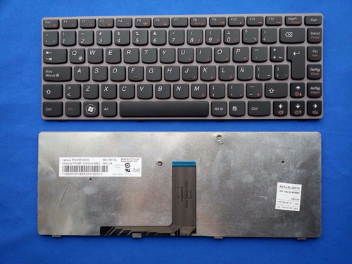 teclado lenovo ideapad z470 z475 z370 z470a carcasa z370