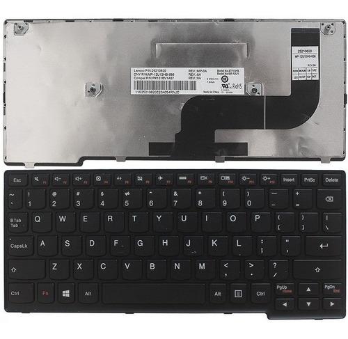 teclado lenovo yoga 11s s210 s215  negro ingles