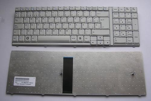 teclado lg s900 series blanco en español nuevo con numerico