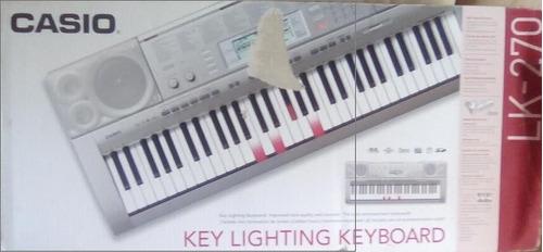 teclado lk-270 usb casio memoria sd teclas sencibles nuevo