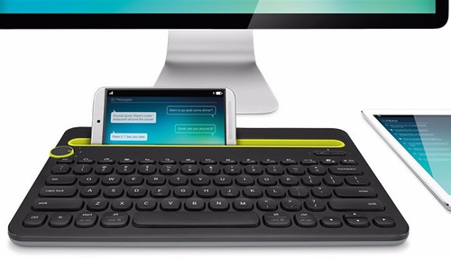 teclado logitech bluetooth multi dispositivo k480 negro