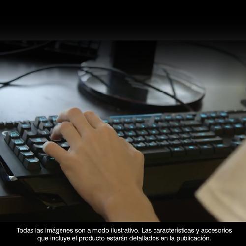 teclado logitech g213 prodigy gamer rgb retroiluminado pcert