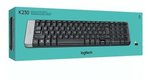 teclado logitech inalambrico k230 español  (sumcomcr)