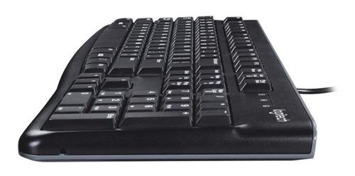 teclado logitech k120 usb español resistente antiderrames