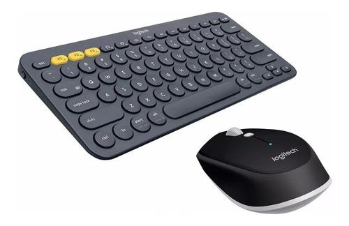 teclado logitech k380 bluetooth + mouse bluetooth m535 ctas