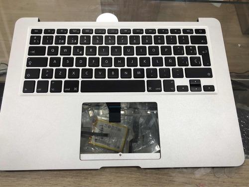 teclado macbook air  a1466 2015 con carcaza