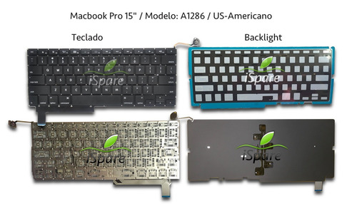 teclado macbook pro 13 15 17 backlight  americano