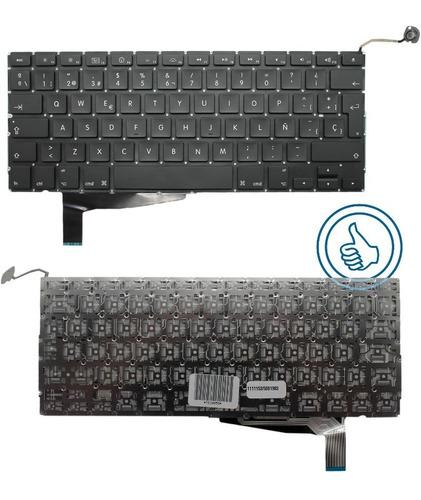 teclado macbook pro a1286 español modelo 2008