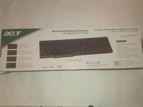 teclado marca acer modelo ar-680 nuevo puerto usb 2.0