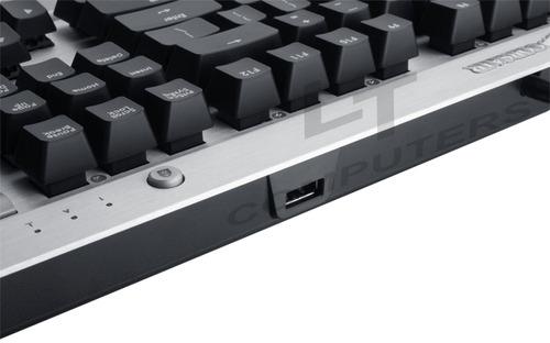 teclado marca corsair - gamer k60 - fps mecanico