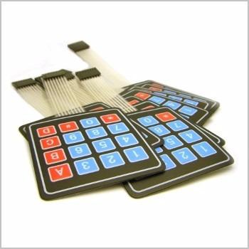 teclado matricial 4x4 para arduino, pic (2 piezas)