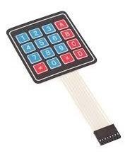 teclado matricial 4x4 para arduino y pic | makercreativostor