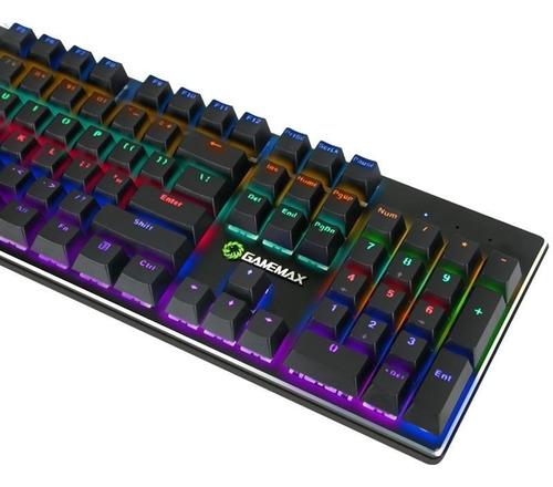 teclado mecanico gamemax k901