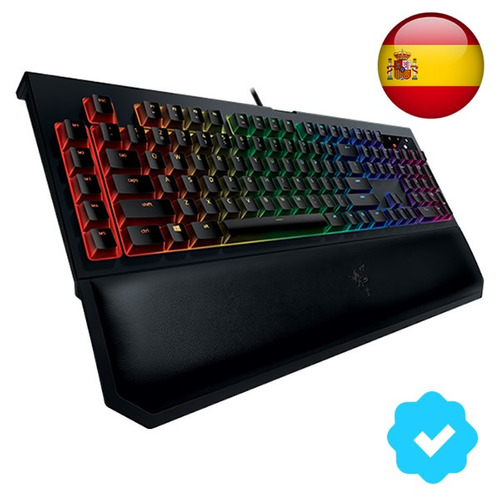 teclado mecánico gamer razer blackwidow chroma v2 en español