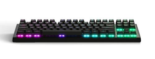 teclado mecánico gamer steelseries apex m750 tkl compacto
