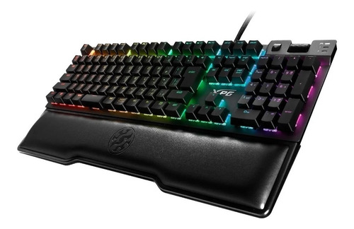 teclado mecanico gaming xpg summoner rgb cherry mx silver