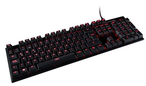 teclado mecánico kingston hyperx alloy fps