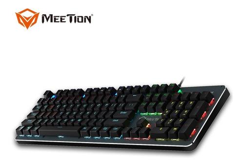 teclado mecanico meetion usb gaming mt-mk007 laaca