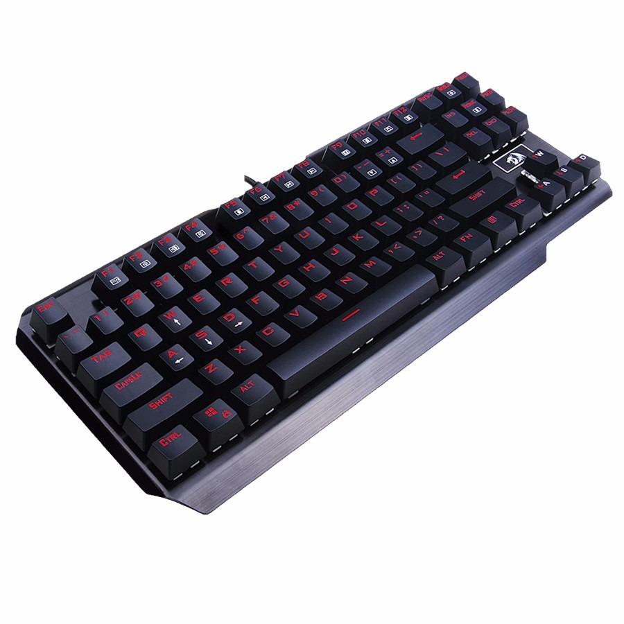 Teclado Mecanico Redragon Usas K553 Negro Led Rojo