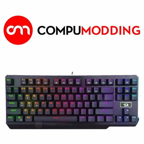 teclado mecanico redragon usas k553  rgb español ñ