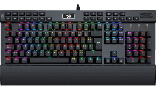 teclado mecanico redragon yama k550 negro rgb español