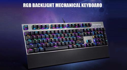 teclado mecânico gamer motospeed ck108 ** pronta entrega **