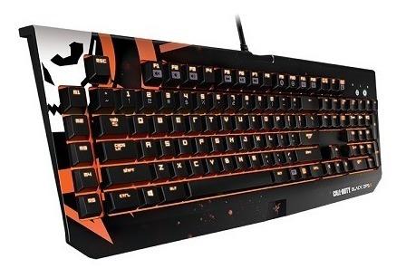 teclado mecânico razer blackwidow chroma call of duty 3