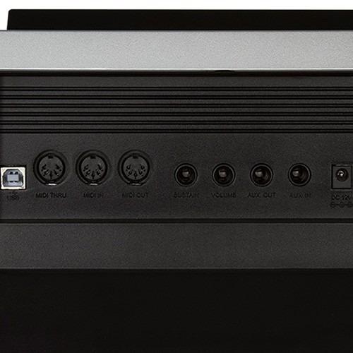 teclado medelli a800 61 teclas sensitivas 583 sons midi usb