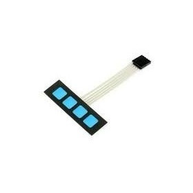 Teclado Membrana Com 4 Teclas - 4x1 - Com Conector