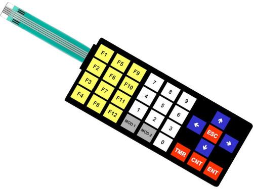 teclado membrana comando ihm tpw 03 clp weg