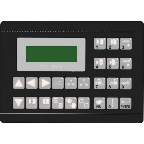 teclado membrana injetora sandretto série lógica 580/100