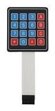 teclado membrana matricial 4x4 autoadhesivo arduino pic