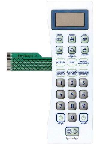 teclado membrana  microondas consul cms18