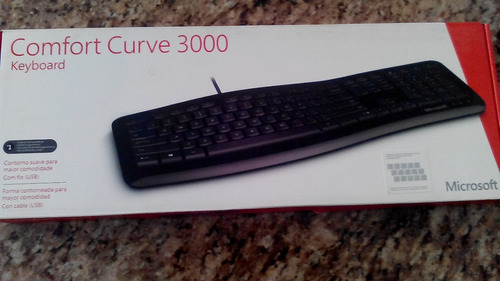 teclado microsoft curve 3000