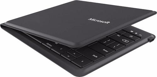 teclado microsoft universal bluetooth batería hasta 3 meses!