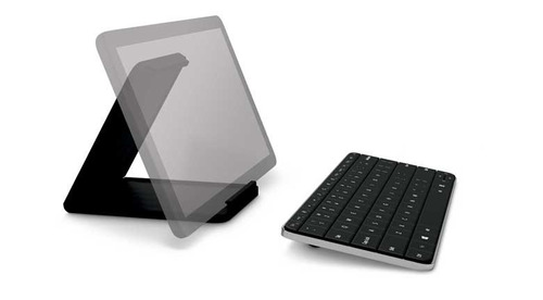 teclado microsoft wedge bluetooth pc ipad android tablet