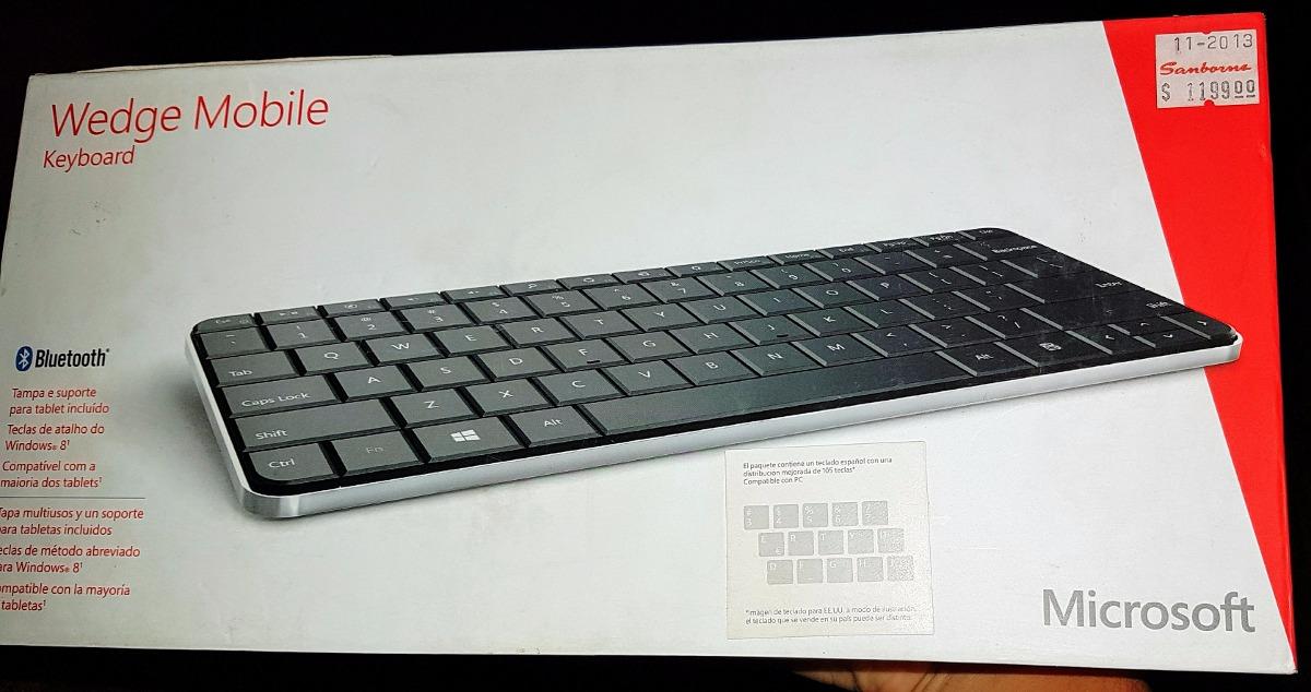 microsoft wedge mobile keyboard manual