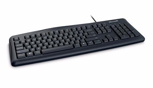 teclado microsoft wired 200 cable usb para pc 100% original!