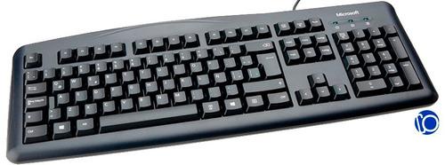 teclado microsoft wired 200 usb español jwd-00031