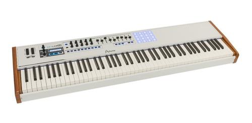 teclado midi usb arturia keylab 88 teclas pesadas sensitivas