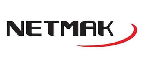 teclado mini blanco inalambrico smart tv netmak - aj hogar