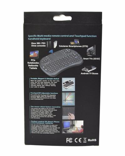 teclado mini-mouse inalambrico para android/smart tv/pc