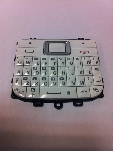teclado motorola ex08  ex109  (original) branco