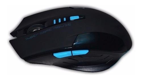 teclado mouse gamer inalambrico pc colores kit noga nkb-40